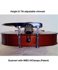 Guarneri Chinrest  with WBO HiClamps